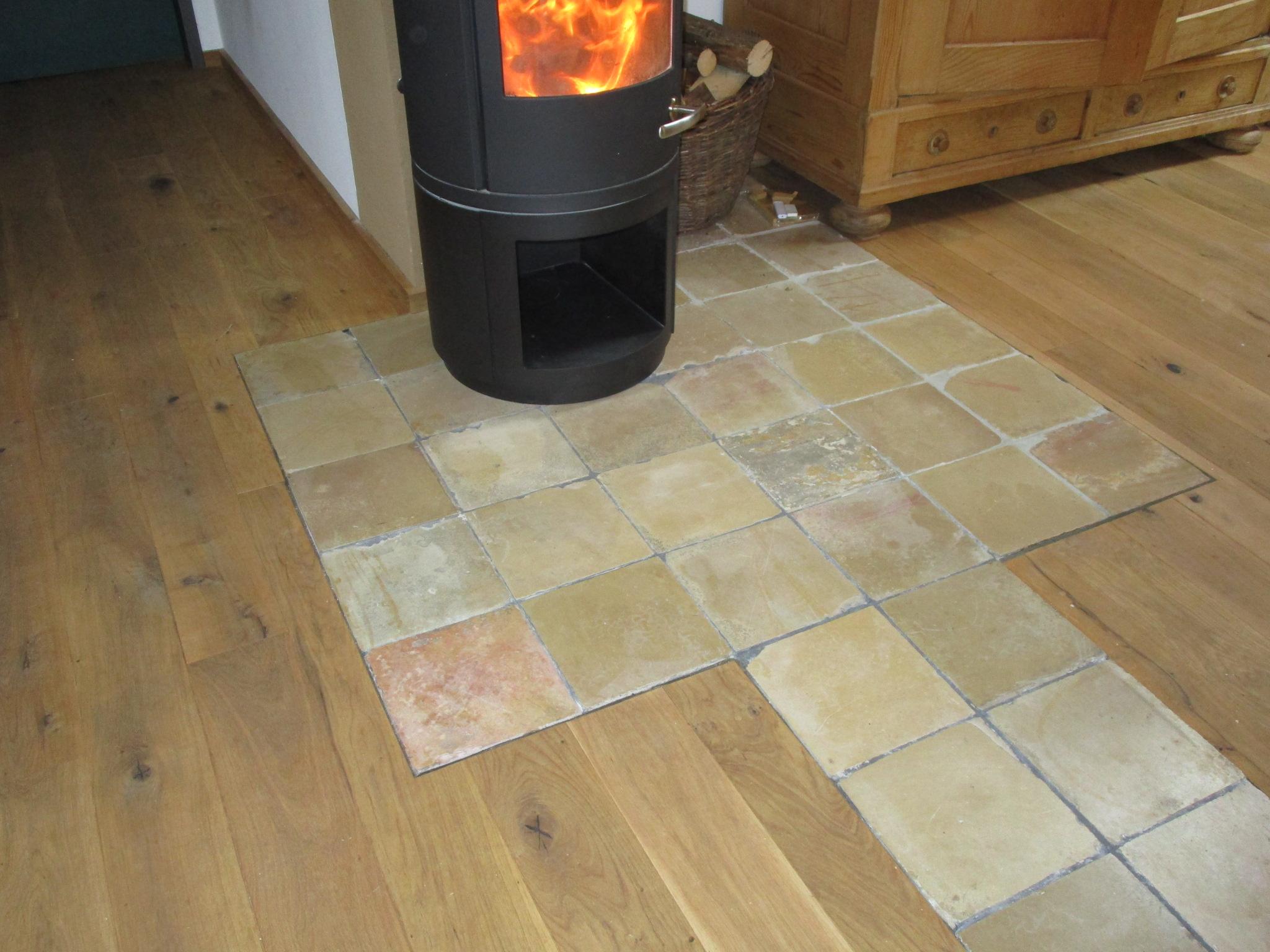 Beispiel  für einen individuellen Parkettboden - Zimmerei Lenk