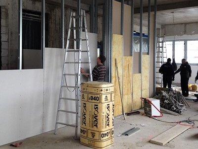 Trockenbauarbeiten inkl. Dämmung - Zimmerei Lenk