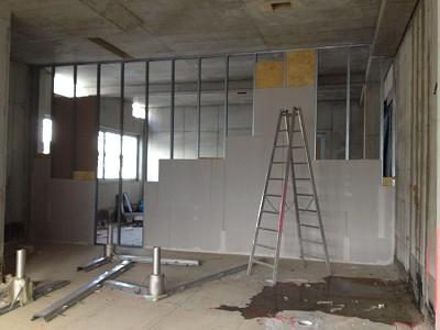 Beispiel für Trockenbauarbeiten - Zimmerei Lenk