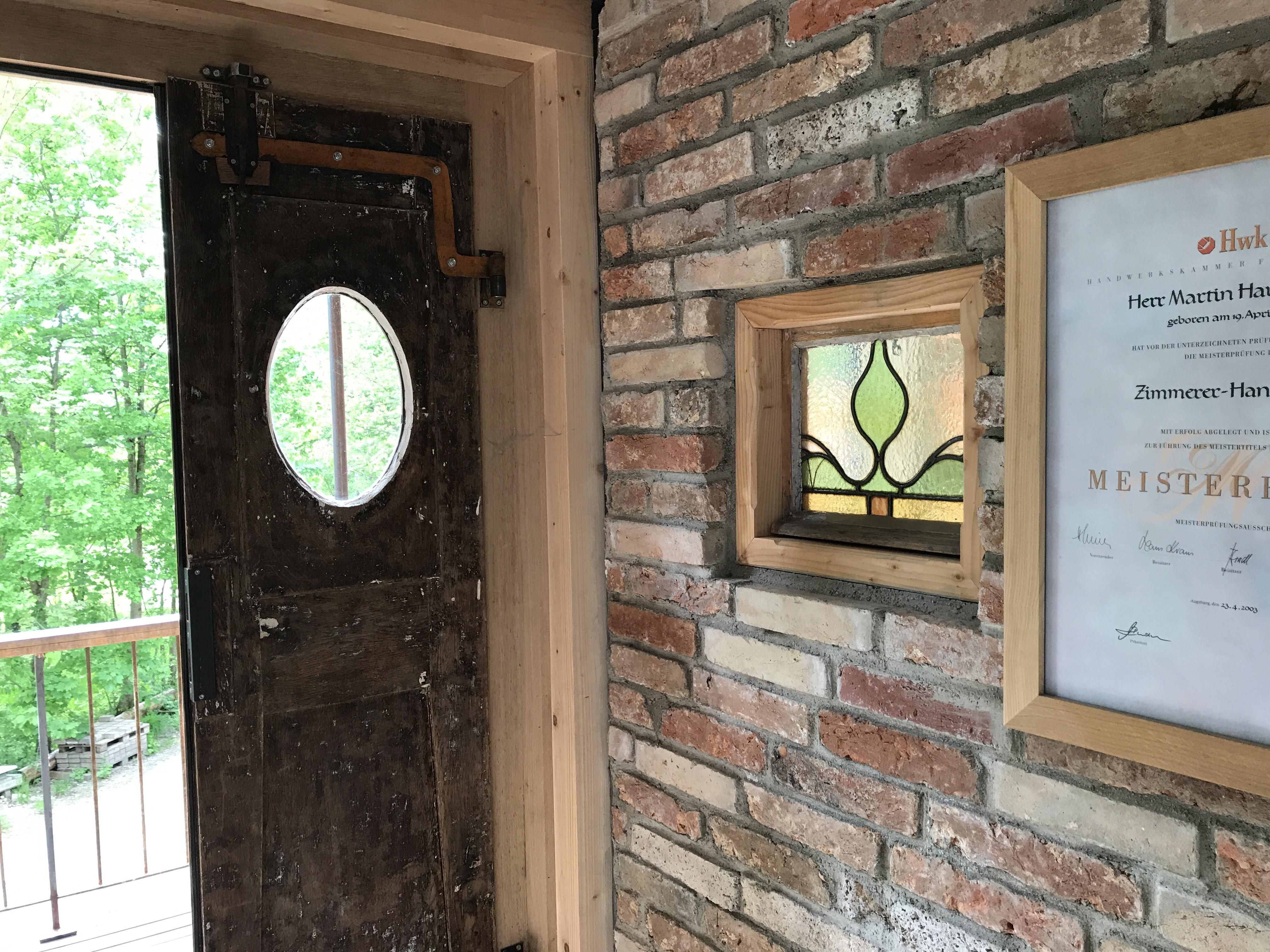 Unser Eingangsbereich im Büro - Zimmerei Lenk