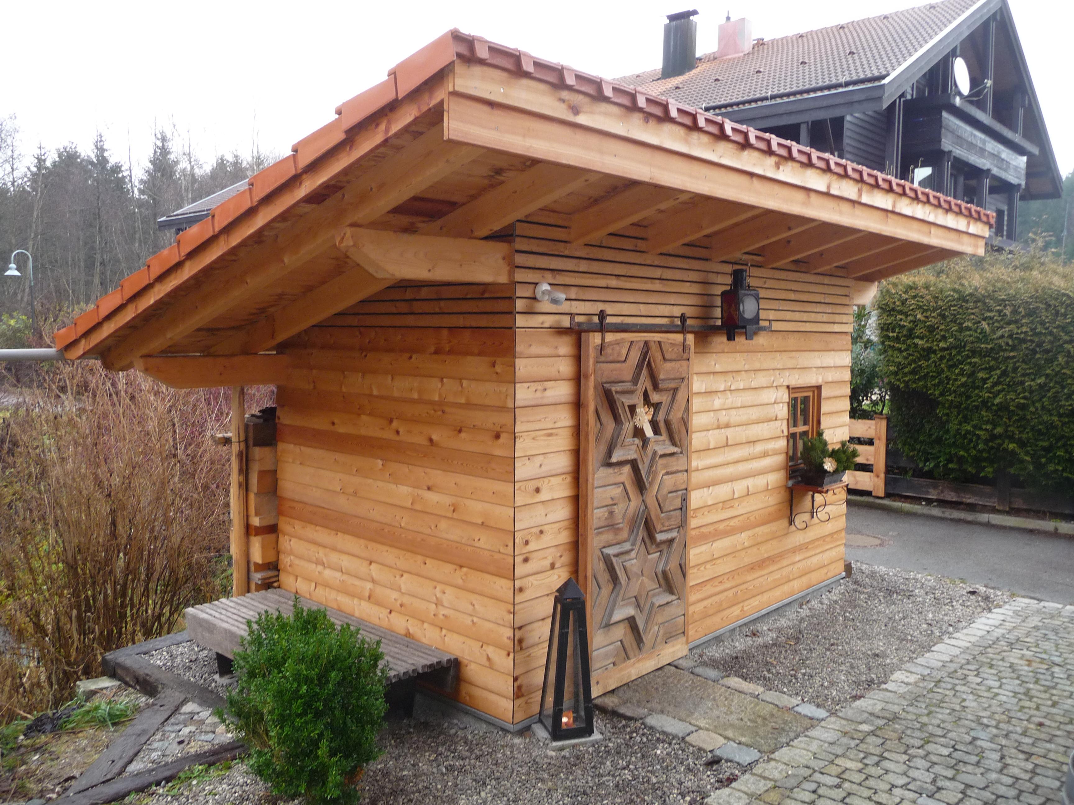 Gartenhütte - Zimmerei Lenk