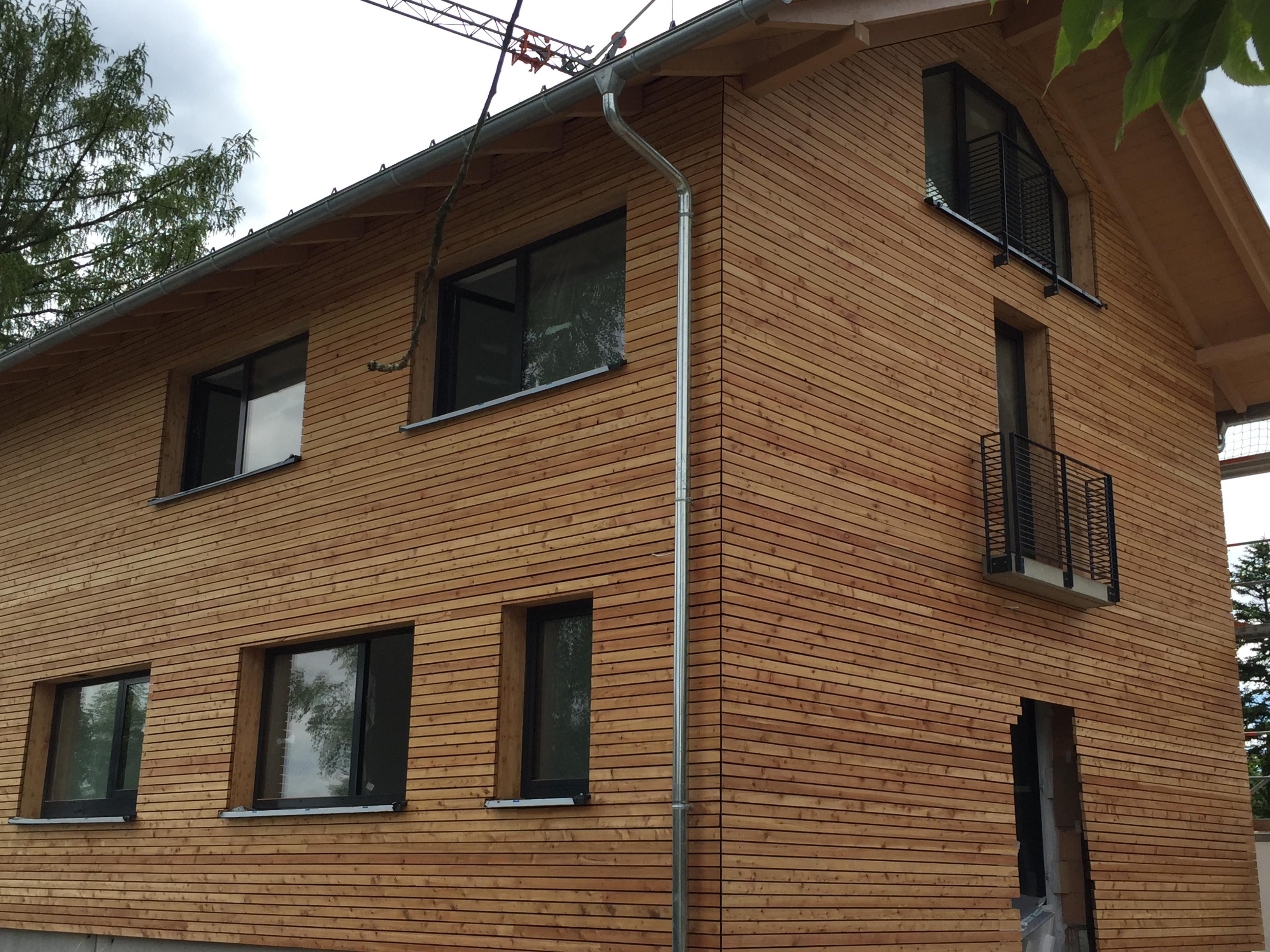 Fassade aus Holz 2 - Zimmerei Lenk