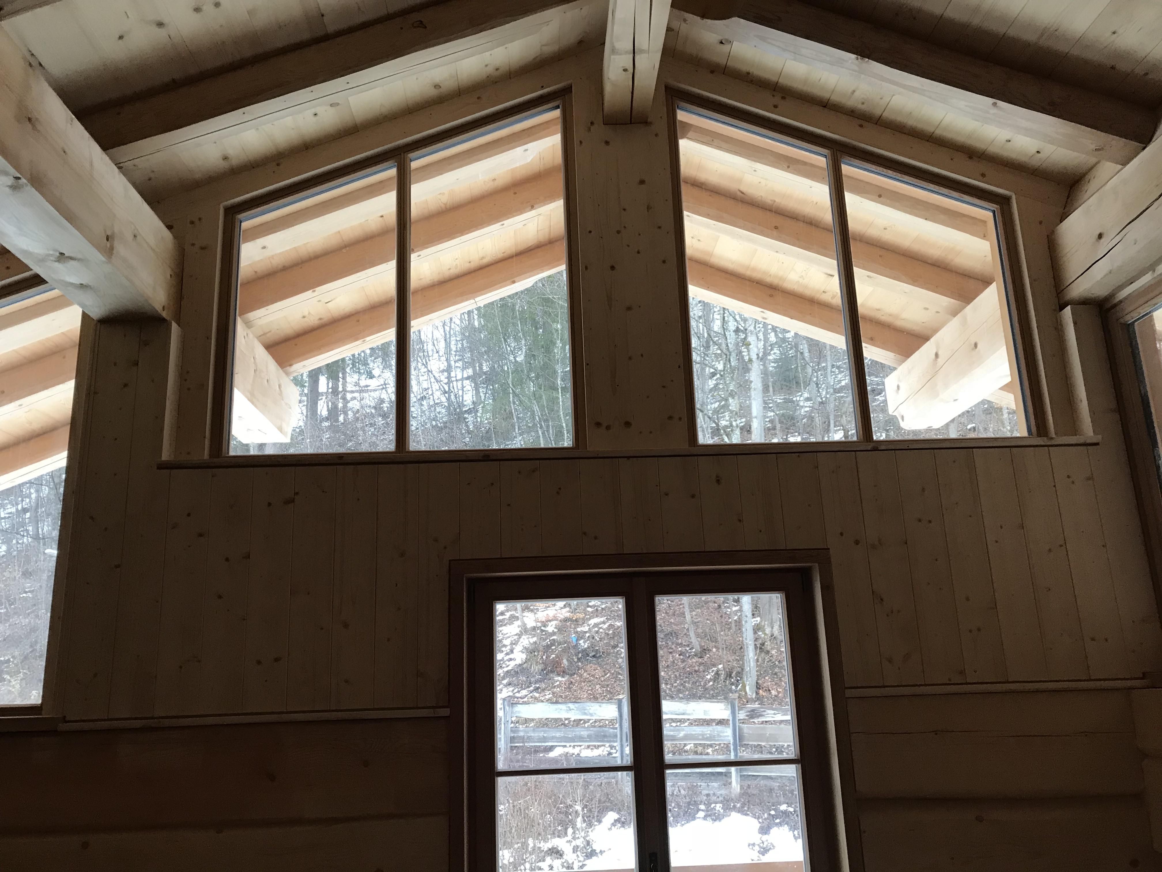 Holz-Innenverkleidung Blockhaus