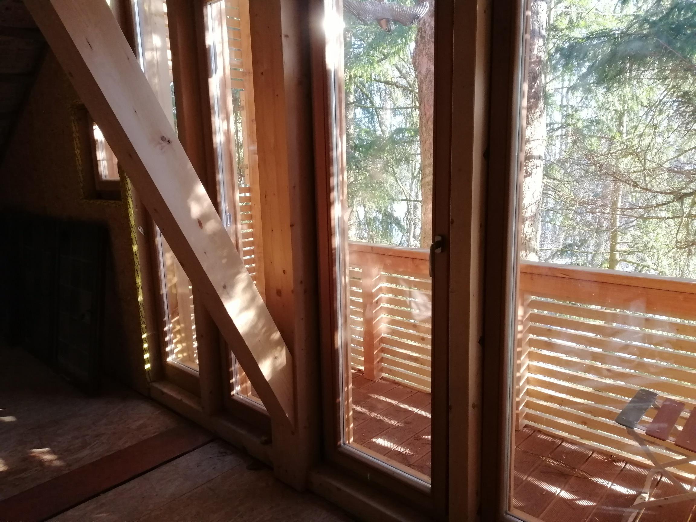 Fensterfront Dachgeschoss - Zimmerei Lenk