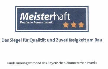 """Auszeichnung """"Meisterhaft"""" 2019"""